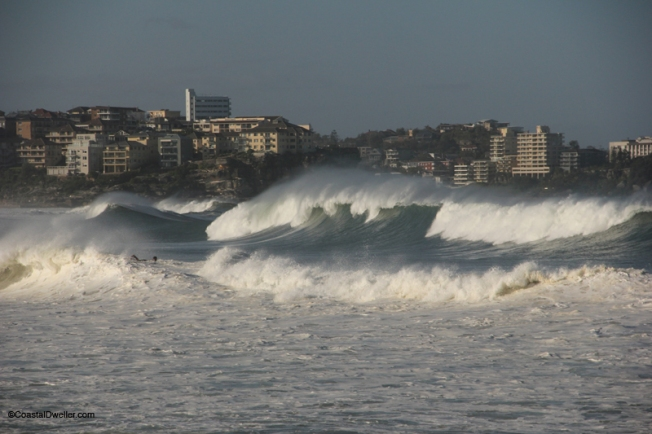 Big swells whipped up by ex tropical cyclone Oswald