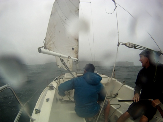 A summer sail on Sydney Harbour (before the wind set in)